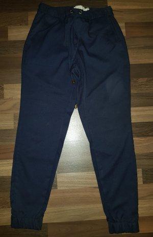 H&M L.O.G.G. Pantalone di lana blu scuro