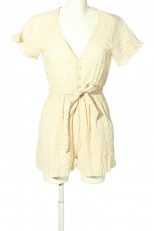 H&M Jumpsuit creme Casual-Look