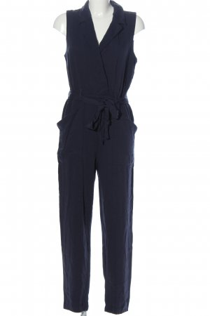 H&M Jumpsuit hellgrau Business-Look