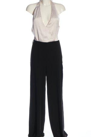 H&M Jumpsuit weiß-schwarz Casual-Look