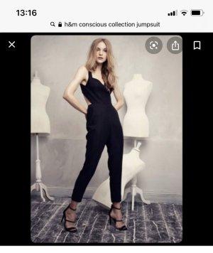 H&M Jumpsuit Coscious Collection Gr. M Gr. 38 nie getragen rückenfrei
