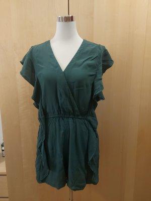 H&M Jumpsuit Crépe-Stoff grün