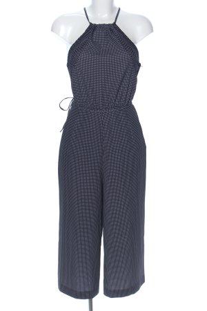 H&M Jumpsuit schwarz-weiß Punktemuster Casual-Look