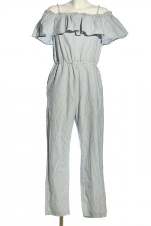 H&M Mono azul-blanco look casual