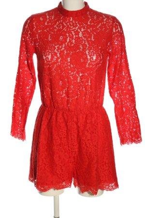 H&M Jumpsuit rot Elegant