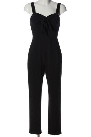 H&M Jumpsuit schwarz meliert Casual-Look
