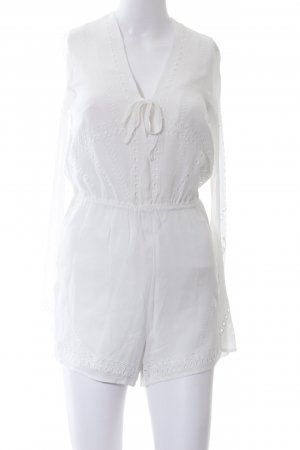 H&M Jumpsuit weiß Casual-Look