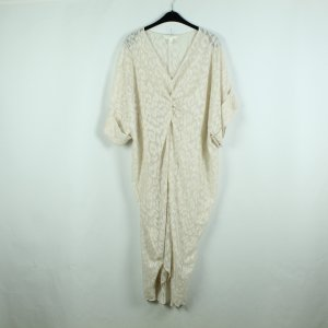 H&M Caftan oatmeal-gold-colored polyester