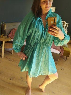 H&M Kaftan jasnoniebieski