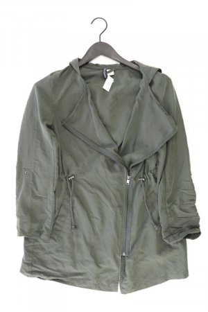 H&M Kapuzenjacke Größe 34 olivgrün aus Modal