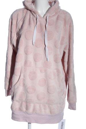 H&M Abito con cappuccio rosa stampa integrale stile casual
