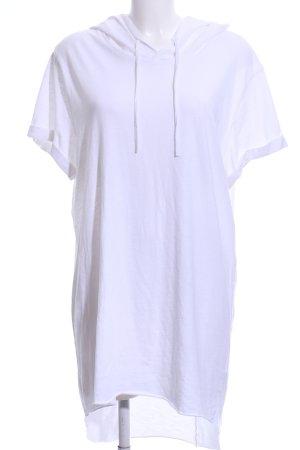 H&M Top à capuche blanc style décontracté