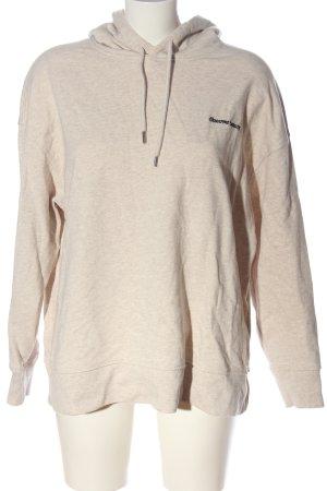 H&M Kapuzensweatshirt creme meliert Casual-Look