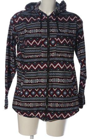 H&M Kapuzensweatshirt grafisches Muster Casual-Look