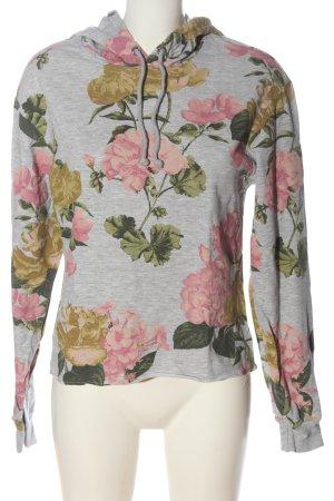 H&M Kapuzensweatshirt Allover-Druck Casual-Look
