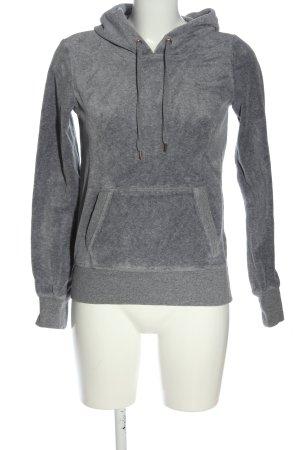 H&M Sweatshirt met capuchon lichtgrijs casual uitstraling