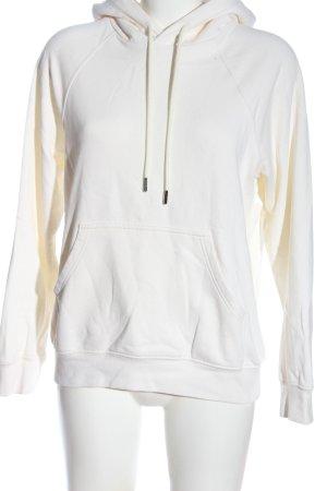 H&M Kapuzensweatshirt weiß Casual-Look