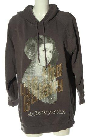 H&M Kapuzensweatshirt Motivdruck Casual-Look