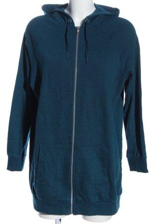 H&M Kapuzensweatshirt blau Casual-Look