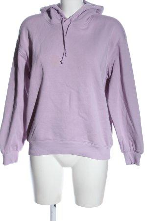 H&M Bluza z kapturem fiolet W stylu casual