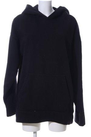 H&M Kapuzensweatshirt schwarz Casual-Look