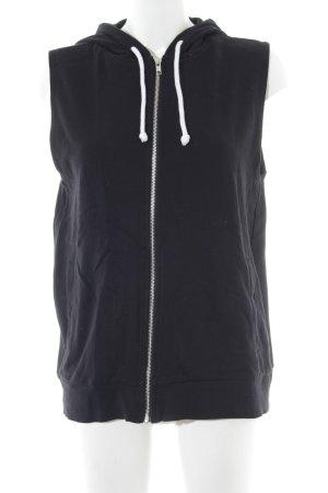 H&M Gilet à capuche noir style décontracté