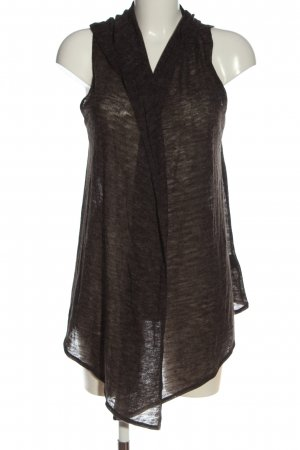 H&M Hooded Vest brown casual look
