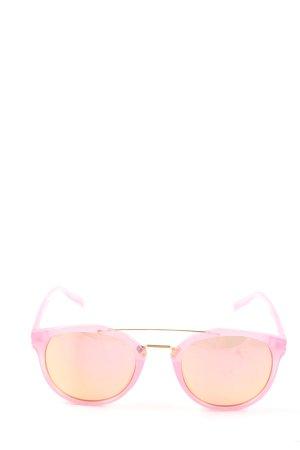 H&M Gafas cuadradas rosa look casual