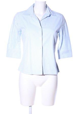 H&M Karobluse blau-weiß Karomuster Casual-Look
