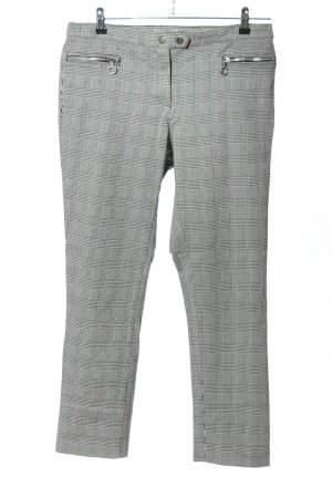 H&M Peg Top Trousers check pattern casual look