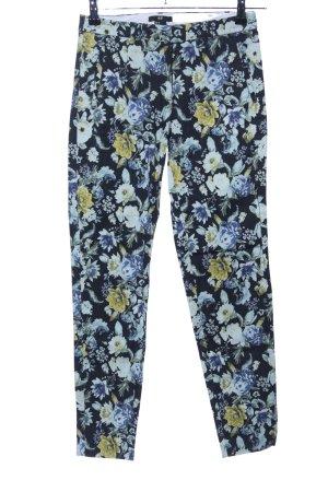 H&M Wortelbroek bloemenprint casual uitstraling