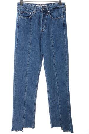 H&M Karottenjeans blau Casual-Look