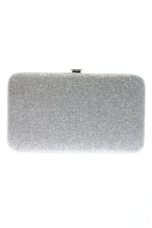 H&M Tarjetero color plata elegante