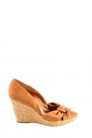 H&M Wedge Pumps brown party style