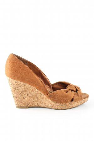H&M Keil-Pumps hellorange-nude Casual-Look