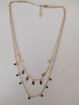 H&M Kette Halskette Zweireihig