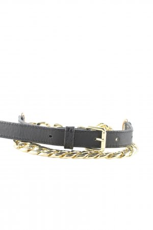 H&M Chain Belt black-gold-colored casual look