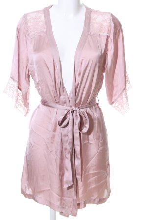 H&M Kimono pink casual look