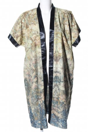 H&M Kimono abstract pattern casual look