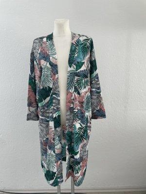 H&M Kimono Blätter gr S  Sommer