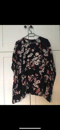 H&M Kimono Blumen Blogger