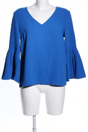 H&M Kimono-Bluse blau Business-Look