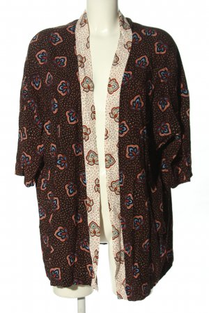 H&M Kimono Blouse abstract pattern casual look
