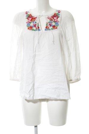 H&M Blusa kimono motivo floreale stile casual
