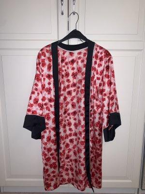 H&M Kimono rosso-bianco