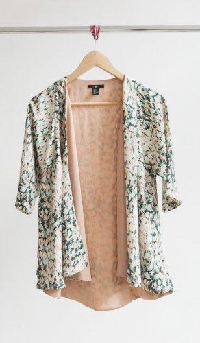H&M Kimono - nude/grün