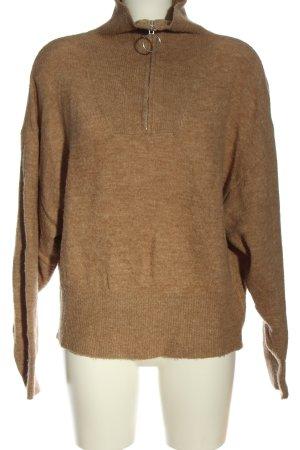 H&M Jersey kimono marrón moteado look casual
