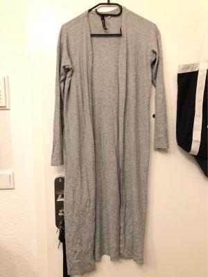 H&M Manteau en tricot gris clair