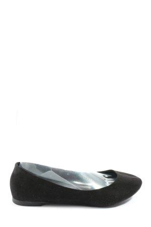 H&M Klassische Ballerinas schwarz Casual-Look