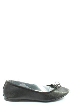 H&M Klassische Ballerinas schwarz Business-Look